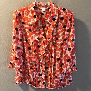 Women's Pendleton blouse size 12